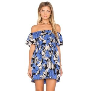 Free people Louise off the shoulder floral dress L